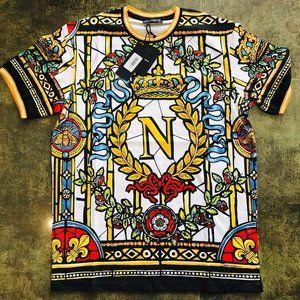 Dolce & Gabbana Short Sleeve T-shirt Men's Xlarge